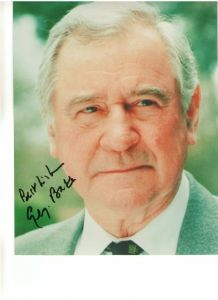 Signed 10 x 8 Photograph of George Baker star of Bond, Doctor Who, I Caludius, The Prisoner etc.